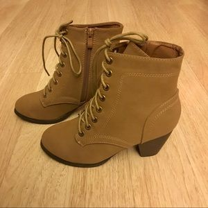 Ankle Lace-Up Booties